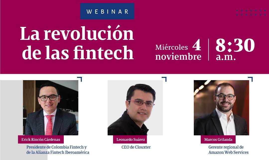 """Webinar """"La revolución de las Fintech"""""""
