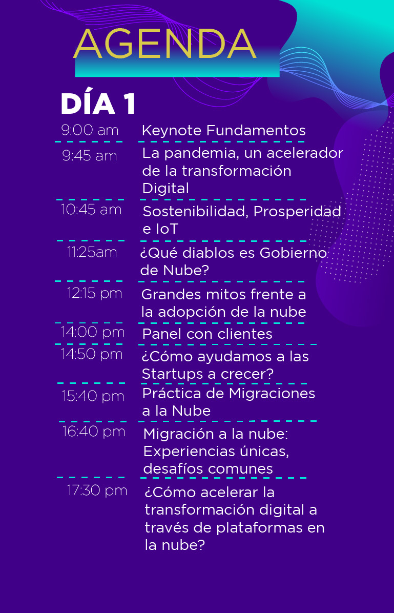 Clouxter Summit - Desktop - Día 1